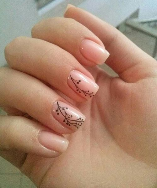 50 Floral Nail Art for Summer and Spring Ideas 23