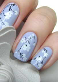 50 Floral Nail Art for Summer and Spring Ideas 50