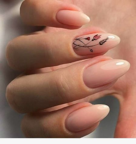 50 Floral Nail Art for Summer and Spring Ideas 9