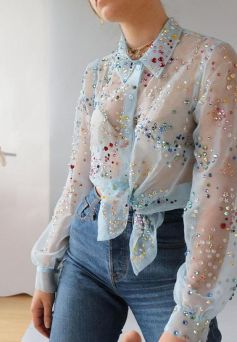 50 Organza Outfits You Should to Try Ideas 4