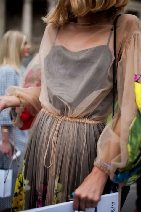 50 Organza Outfits You Should to Try Ideas 40