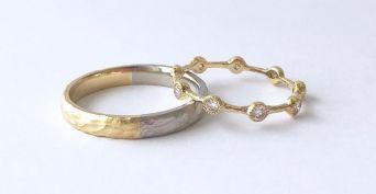 50 Simple Wedding Rings Design Ideas 20