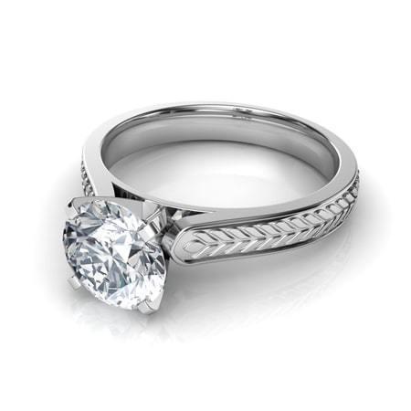 50 Simple Wedding Rings Design Ideas 39