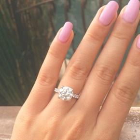 50 Simple Wedding Rings Design Ideas 42