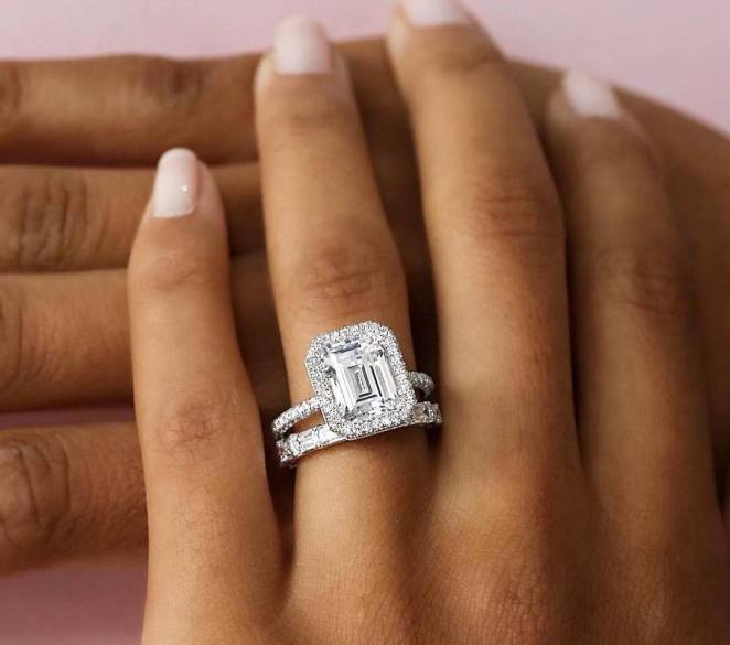 50 Simple Wedding Rings Design Ideas 44