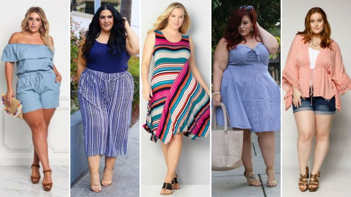 50 Summer Outfits for Plus Size Ideas