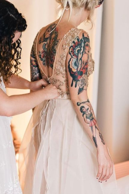 50 Tattoo in Style for Brides Ideas 2
