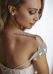 50 Tattoo in Style for Brides Ideas 23