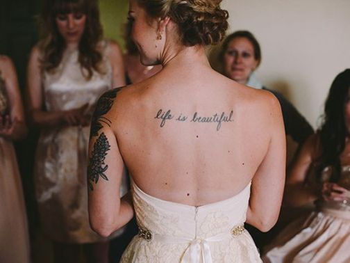 50 Tattoo in Style for Brides Ideas 4