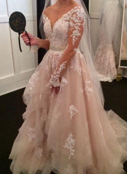 50 V Neck Bridal Dresses for Plus Size Ideas 23