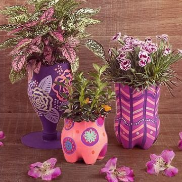 50 Ways to Reuse Plastic Bottles to Cute Planters Ideas 1 1