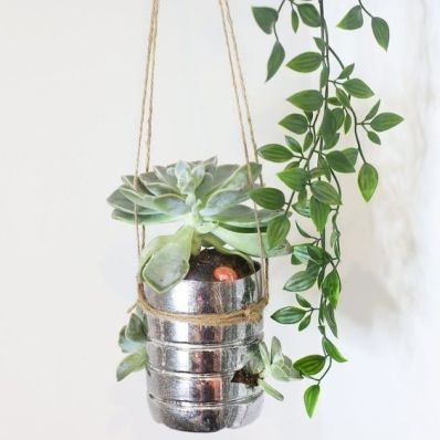 50 Ways to Reuse Plastic Bottles to Cute Planters Ideas 46
