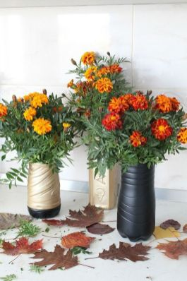 50 Ways to Reuse Plastic Bottles to Cute Planters Ideas 47
