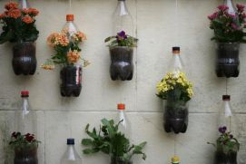 50 Ways to Reuse Plastic Bottles to Cute Planters Ideas 5