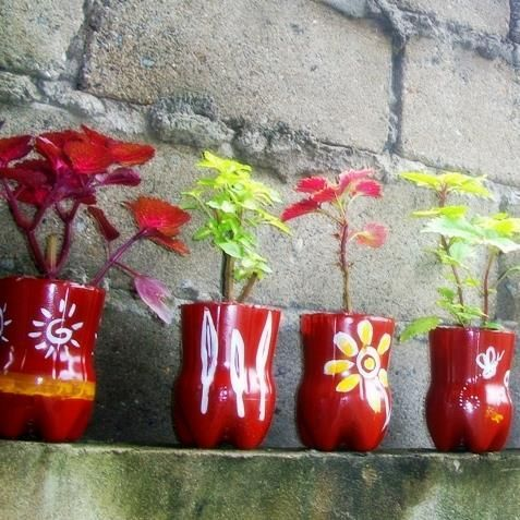 50 Ways to Reuse Plastic Bottles to Cute Planters Ideas 6