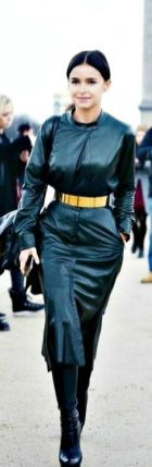 50 Ways to Wear Gold Belts Ideas 14