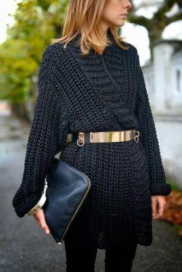 50 Ways to Wear Gold Belts Ideas 37