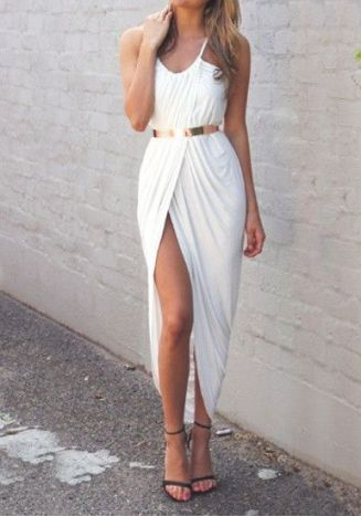 50 Ways to Wear Gold Belts Ideas 38