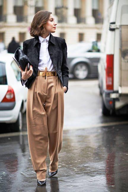 50 Ways to Wear Gold Belts Ideas 4