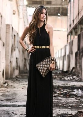 50 Ways to Wear Gold Belts Ideas 53