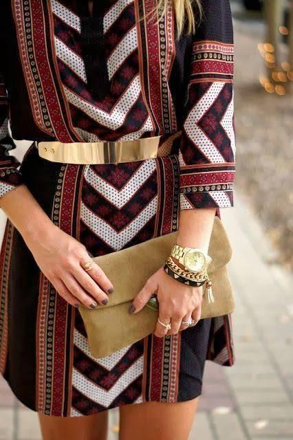 50 Ways to Wear Gold Belts Ideas 9
