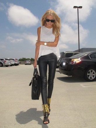 50 Ways to Wear White Sleeveless Top Ideas 33