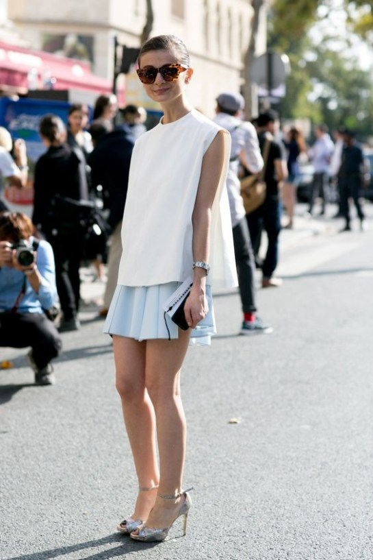 50 Ways to Wear White Sleeveless Top Ideas 53