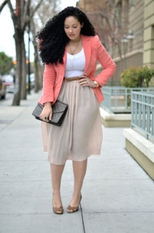 50 Womens Work Outfits for Plus Size Ideas 47