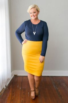 50 Womens Work Outfits for Plus Size Ideas 51
