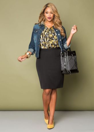 50 Womens Work Outfits for Plus Size Ideas 53