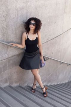 60 Spring and Summer All Black Outfits Ideas 18