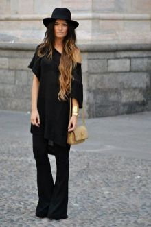 60 Spring and Summer All Black Outfits Ideas 28