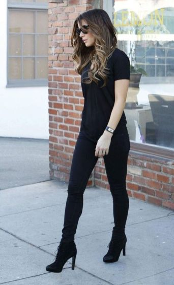 60 Spring and Summer All Black Outfits Ideas 29