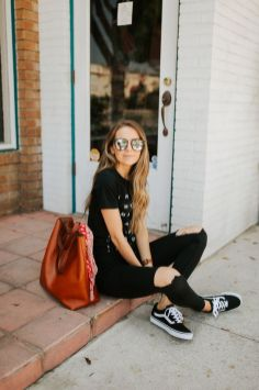 60 Spring and Summer All Black Outfits Ideas 31
