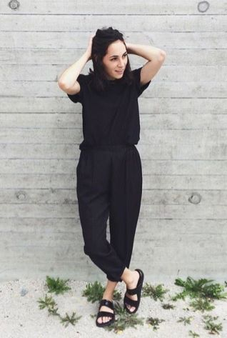 60 Spring and Summer All Black Outfits Ideas 32