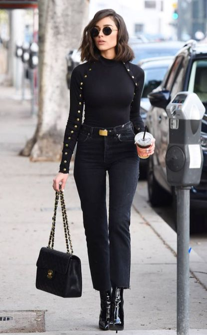 60 Spring and Summer All Black Outfits Ideas 38