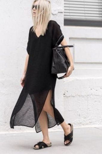 60 Spring and Summer All Black Outfits Ideas 39