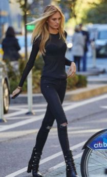 60 Spring and Summer All Black Outfits Ideas 41