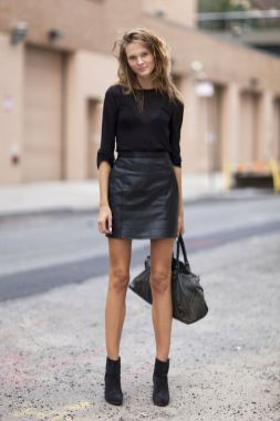 60 Spring and Summer All Black Outfits Ideas 43