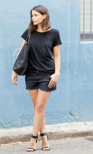 60 Spring and Summer All Black Outfits Ideas 48