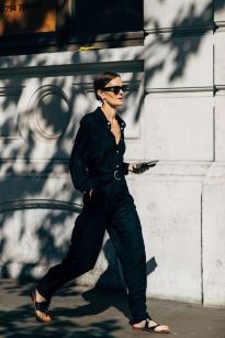 60 Spring and Summer All Black Outfits Ideas 5