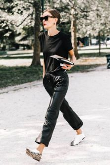 60 Spring and Summer All Black Outfits Ideas 66
