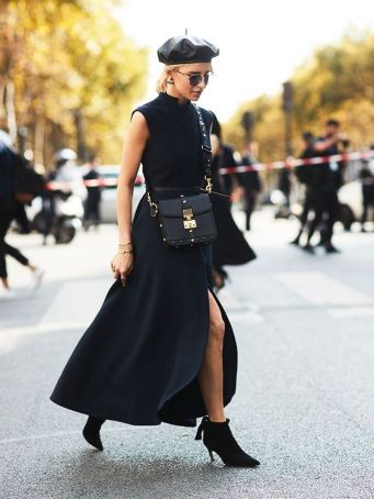 60 Spring and Summer All Black Outfits Ideas 8