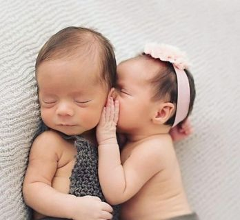 100 Cute Twins New Born Photography You Can Copy 10 1