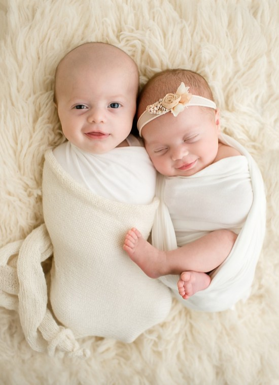 100 Cute Twins New Born Photography You Can Copy 102