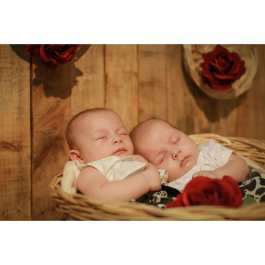 100 Cute Twins New Born Photography You Can Copy 43