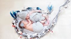100 Cute Twins New Born Photography You Can Copy 76