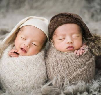 100 Cute Twins New Born Photography You Can Copy 82