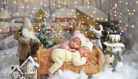 100 Cute Twins New Born Photography You Can Copy 98