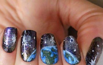30 Earth Day Nails Art Ideas 14